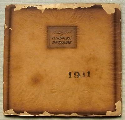 THRUPP & MABERLY Rolls Royce A Little Book of Coachwork Photographs 1931