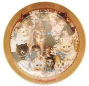 Franklin Mint Cat Plates