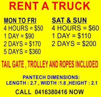 RENT A TRUCK ( DRIVE ON CAR LICENCE ) Liverpool Liverpool Area Preview
