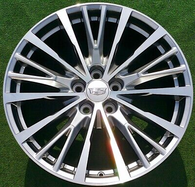 Factory Cadillac CT6V CT6 Wheels Set 4 RTJ 2020 Genuine GM OEM CTS Platinum 20