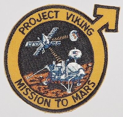 Aufnäher Patch Raumfahrt NASA Project Viking Mission to Mars ...........A3011