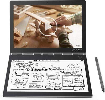 """2019 Lenovo Yoga Book C930 2-in-1 10.8"""" QHD Touch i5-7Y54 4GB RAM  128GB SSD Pen"""