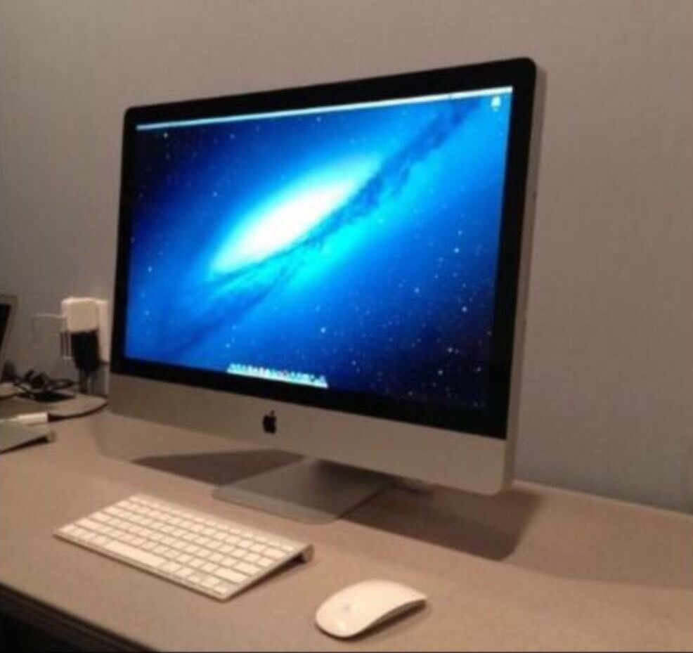 """APPLE IMAC 27"""" INCH WITH WIRELESS K/BMOUSE BOXED GOOD CONDITION BARGAIN MUST SEE LOOKin Halesowen, West MidlandsGumtree - I RUN A SHOP THEREFORE NO OFFERS APPLE IMAC 27"""" SCREEN COMES WITH WIRELESS KEYBOARD & MOUSEDesktop core i3 3.2ghrz really fast 4GB RAM1TB Drive MC510B/A (July, 2010)Great condition for its age. Comes with brand new boxed wireless mouse and..."""
