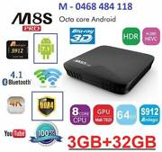 DDR4 3GB+32GB M8S PRO Kodi 17.4 Android 7.1 S912 Smart TV Box 4K Noble Park Greater Dandenong Preview