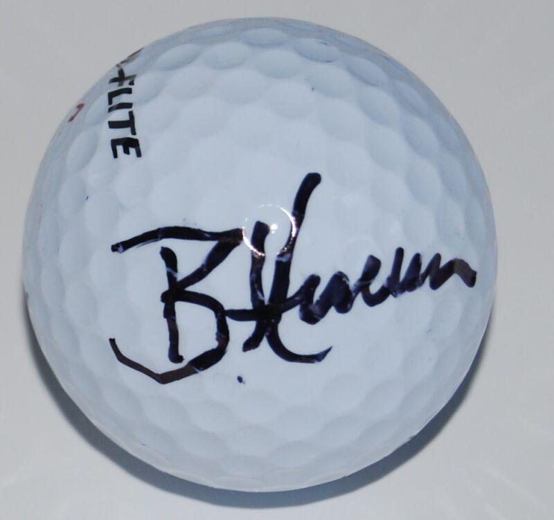 BRIAN HARMAN signed (PGA GOLF BALL) *Wells Fargo Championship* W/COA
