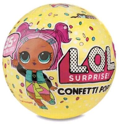 Lol Sorpresa Confeti Pop Bola! Serie 3 ,Onda 1 No Repetida Muñecas...