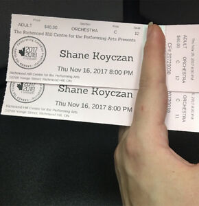 Shane koyczan tickets