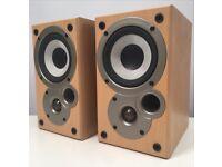 Denon / Mission SC-M50 Speakers (pair, working, no grilles)