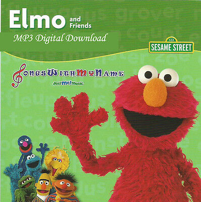 Elmo Personalized Music Cd And A Free Digital Download    On Sale