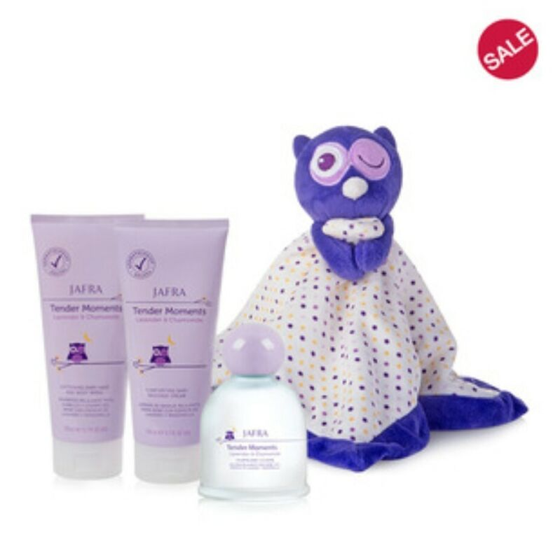 Jafra tender moments Lavender & Chamomile set, Baby Cream,  Baby Hair And...