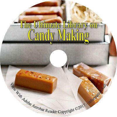 40 Books On Cd Ultimate Library On Candy Making  How To Recipes Candies Homemade