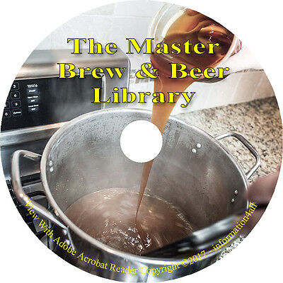 $6.00 - 53 Books on CD Brew & Beer Library Brewing, Fermentation, How to Make at Home