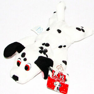 DISNEY~1996 Applause Bean Bag Doll~101 Dalmations~Plush Dog Movie Figure Toy~NOS
