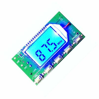 1x Dsp Pll 87-108mhz Digital Wireless Microphone Stereo Fm Transmitter Module B