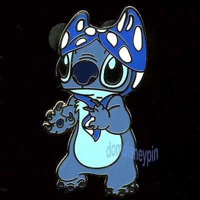 Disney Pin *Lilo & Stitch* Characters - Stitch with a Bikini Top on His Head!