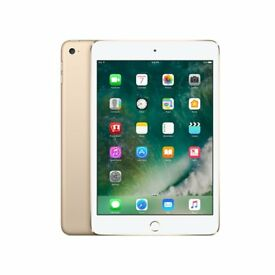 BRAND NEW SEALED APPLE IPAD MINI 4 128GB - WIFI - GOLD - NO OFFER