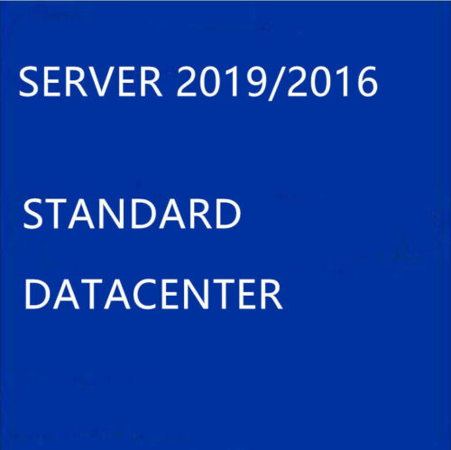 HOW TO ACTIVATING SERVER 2019/2016 STANDARD/DATACENTER 1 PC RETAIL; USB/no