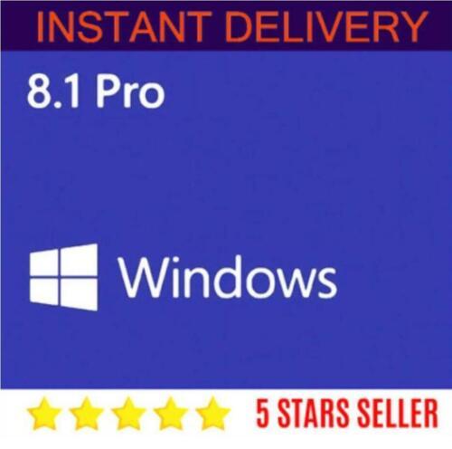 Windows 8.1 Pro 32/64 bit GENUINE  PRODUCT KEY code +download link