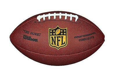 Wilson NFL The Duke Replica American Football Ball - Official Size - New