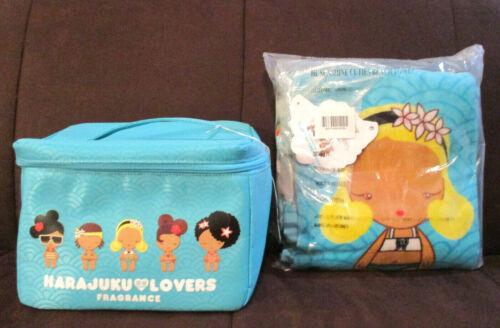 Harajuku Lovers Fragrance Beach Cooler And Sunshine Cuties Beach Towel New