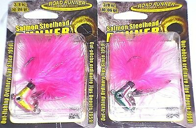 "Creme Lures 190-66-7 6/"" Scoundrel Worms Purple//Glo Pink Tail Fish Lure 4 Pack"