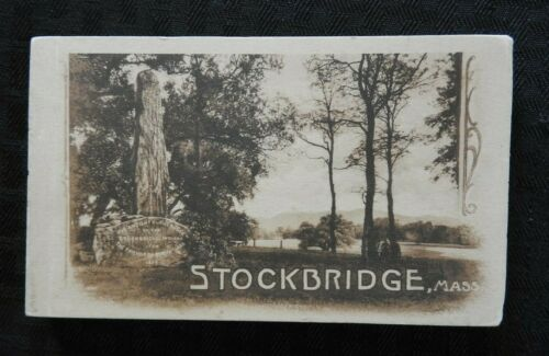 (20) c.1910 STOCKBRIDGE MA MASSACHUSETTS RPPC POSTCARD TOWN VIEWS HOMES MINT