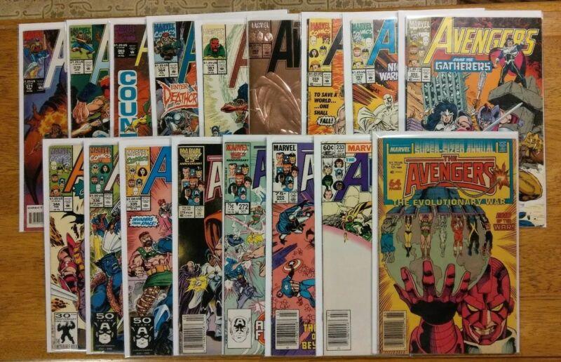 The Avengers - Vol.1 - Comic Lot - Marvel - 1983-1994