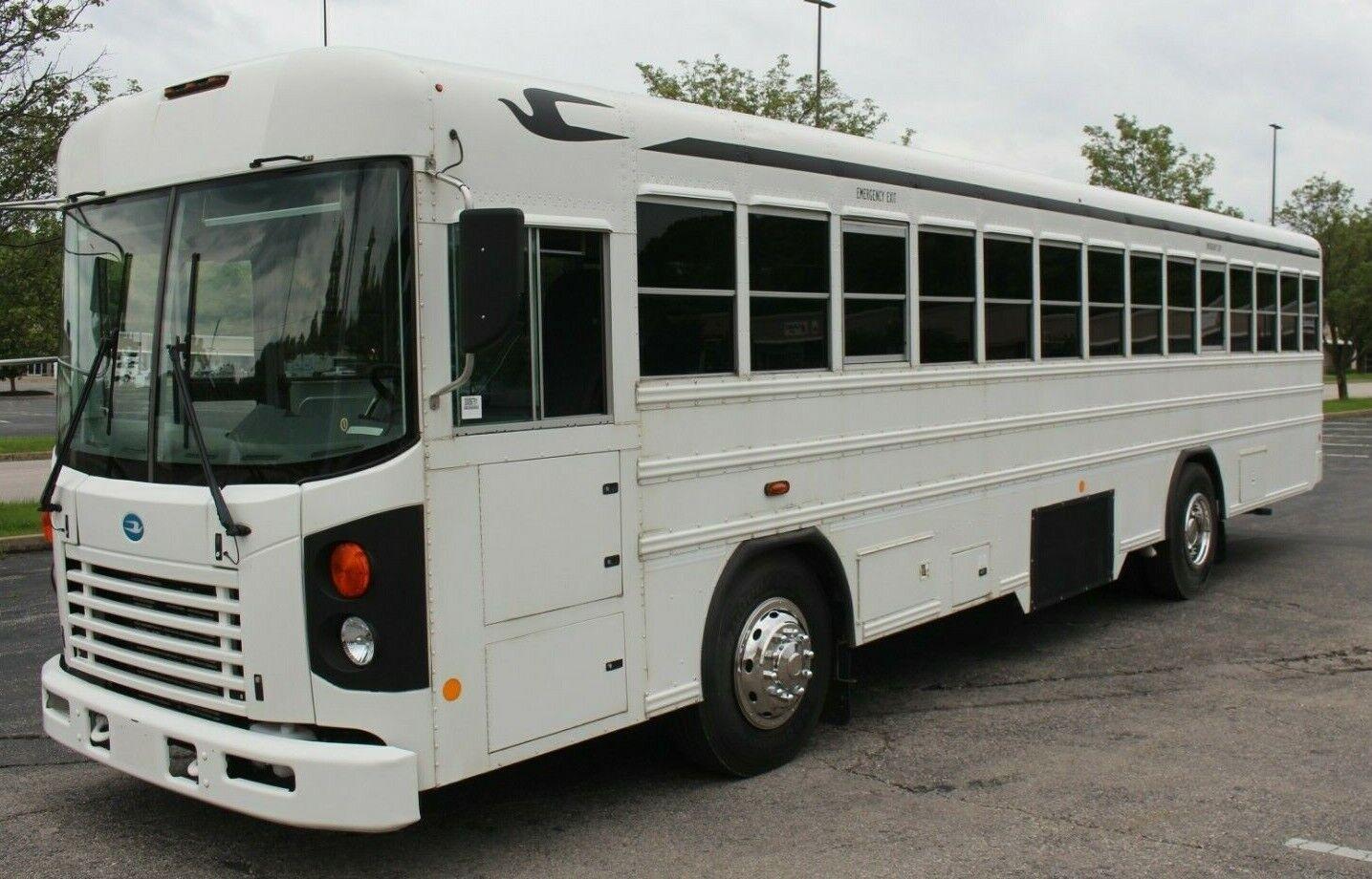 2010 Blue Bird School Activity Bus Cummins Diesel Skoolie RV Shuttle 26K Miles