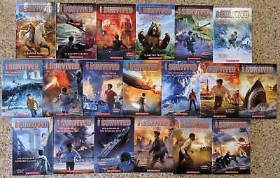 NEW I Survived Complete Series Collection Set 1 -19 Paperback by Lauren Tarshis