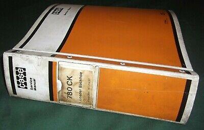 Case 780-ck Construction King Loader Backhoe Service Shop Repair Manual Factory