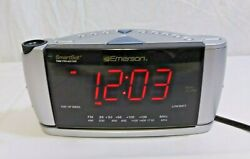 EMERSON RESEARCH Smart Set RADIO ALARM CLOCK w/Time Projector Model CKS3528