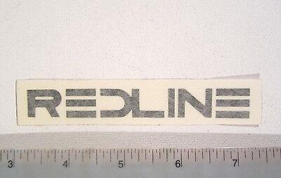 old school bmx decals stickers redline forklifter stem decal white