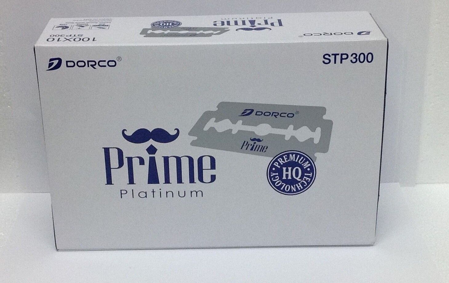 1000 Dorco Prime Platinum Double Edge Razor Blades-BRAND NEW