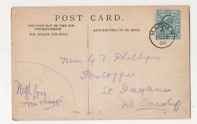 Machen [A] 22 Oct 1904 Single Ring Postmark 849b