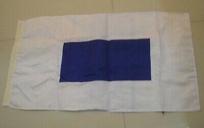"""Naval Signal Flag V 8/"""" X 13/"""" Nautical // Boat // Maritime Marine Code"""