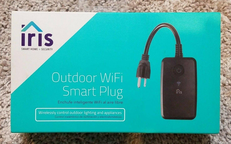 IRIS OUTDOOR WIFI SMART PLUG CONTROL LIGHTING AND APPLIANCES