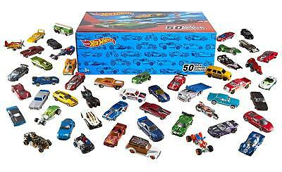 Hot Wheels Basic Car 50-Pack Set Lot Toy Vintage Kids Collectors Small Vehicles