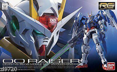 Bandai gundam RG 1/144 GN-0000+GNR010 OO Raiser Model kit RG 00