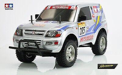 TAMIYA 1:10 RC Mitsubishi Pajero Rally Sport CC-01  58602 Bausatz