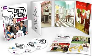 FAWLTY TOWERS THE COMPLETE COLLECTION REMASTERED DVD ENGLISCH