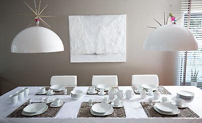 Geschirr Porzellan Set Tafelservice Geschirrset Teller Komplettservice 62 teilig