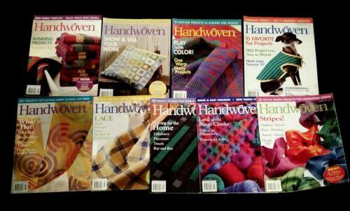 9 issues  HANDWOVEN Magazine 2003 & 2006