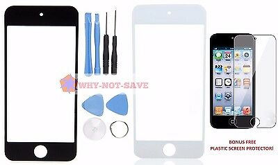 Outer Replacement Front Glass screen Part for Ipod Touch 5 5th gen A1421 & Tool