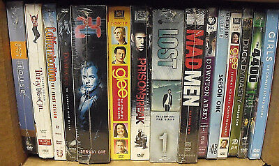 SPECIAL! LOT 15 TV SERIES SEASONS BOX SETS NEW SEALED TOTAL 58 DISCS