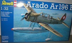 ARADO Ar196v SEAPLANE,Folding Wings, ENGINE & COCKPIT Detail & .1/32