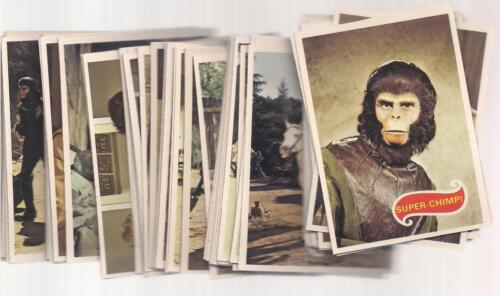 1967 TOPPS PLANET OF THE APES COMPLETE 66 CARD SET TV SERIES EX-NM