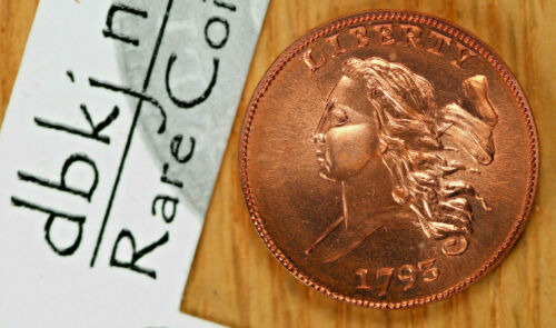 1793 Liberty Cap Half Cent - Fantasy Token - Gallery Mint Museum GMM - Gem BU