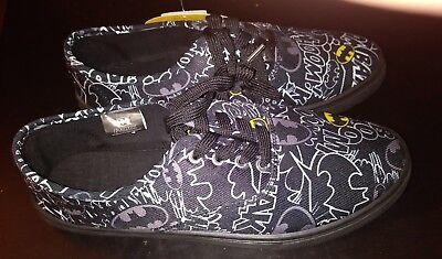Batman Superheroes Shoes DC Comics Canvas Skateboard Sneakers Tony Hawk Men's 9