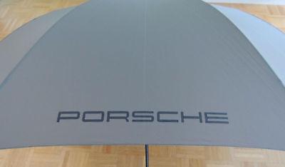 PORSCHE Designer Golf-Regenschirm,Grau,Automatik,XL,2-Pers.122cm NEU & OVP !!