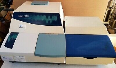 Perkin Wallac 1420 Victor 2 Multilabel Hts Counter Microplate Reader Injector